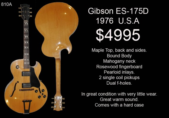 GIBSON ES175D 1976 810
