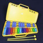 Angel AX25N 25 Note Glockenspiel- Yellow Case