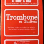 A Tune a Day for Trombone or Baritone Book 2