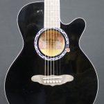 Gypsy Rose GRA1KBK 7/8 Black Acoustic Guitar