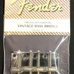 Fender 099-0804-100 Pure Vintage Jazz/Precision Bass Bridge Assembly