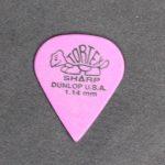 Dunlop Tortex Sharp Picks 1.14mm