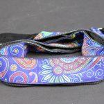 XTR LS335 Poly Vintage Blue Paisley Jacquard Weave