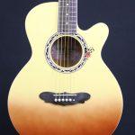 Gypsy Rose GRA1KCMB 7/8 Caramel Acoustic Guitar