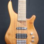 J&D Luthiers 6-String T-Style Contemporary Active Bass Guitar