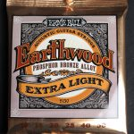 Ernie Ball Earthwood Phosphor Bronze Extra Light Acoustic Strings 10/50