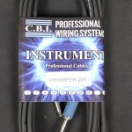 C.B.I. Cables Whissper Series 20ft Instrument Cable
