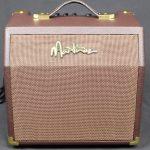 Martinez Retro-Style 15 Watt Acoustic Guitar Amplifier with Chorus (Brown Vinyl)