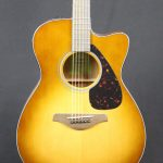 Yamaha FSX800CSDB Acoustic Guitar in Sandburst
