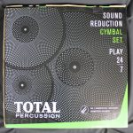 Total Percussion SRC50 14/16/20 Sound Reduction Cymbal Set