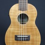 Tiki Mahogany Flame Top Concert Electric Ukulele