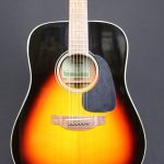 Takamine D2 Series Dreadnought Acoustic Guitar in Sunburst Gloss Finish