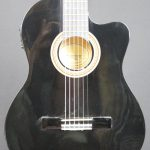 Valencia VC104CE Electric/Acoustic- Black - (Scratch and Dent)