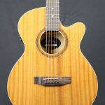 Martinez MFC31MAH Folk Size Acoustic Electric Cutaway - Mahogany