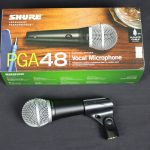 Shure PGA48 Cardioid Dynamic Vocal Microphone with QTR-XLR Cable