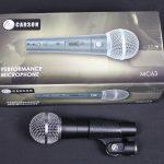 AMS MC63 Mic Unidirectional Dynamic Microphone