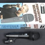 AMS Unidirectional Handhled Microphone with Mic Cable, Clip and Pouch