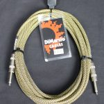 Dimarzio EP1718 Pro Guitar Lead - Vintage Tweed