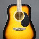 Redding RED50TS Dreadnought Acoustic Guitar Tobacco Sunburst