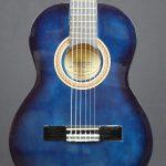 Valencia - VC102 ½ Size Classical Guitar -Blueburst - Scratch and Dent