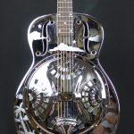 1994 Dobro 33H Hawaiian Round Neck Metal Resonator Guitar- USA