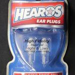 Hearos HS211 Hi Fidelity Filter Ear Plugs