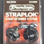 Jim Dunlop J1031BC Dual Design Strap Locks-Black Chrome