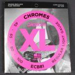 D'Addario ECB81 Bass Chromes Long Scale 45-100