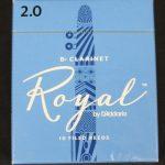 Rico Royal Bb Clarinet Reeds - Box of 10 - Size 2