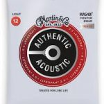 Martin MA540T Lifespan Treated Phosphor Bronze Authentic Acoustic Guitar Strings Light 12-54